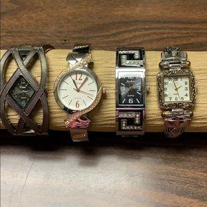 Ladies bangle watches